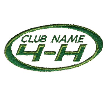 EB2489 4-H Club Name SHirt