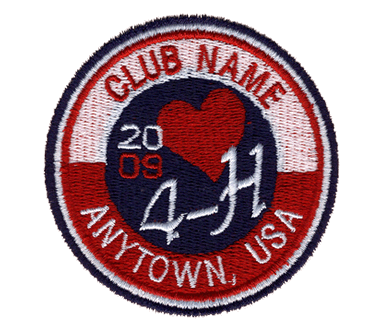 EB2491 4-H Club Patch 2 Shirt