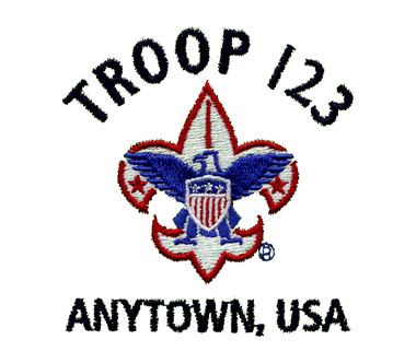 Boy Scouts Of America Embroidery Designs