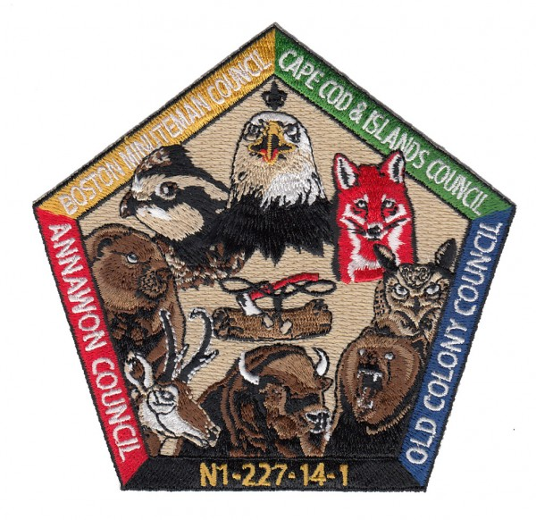 wood badge course patch examples
