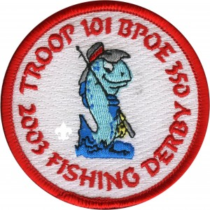 Cub Scout Fishing Derby Patch