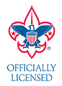 BSA Boy Scouts of America official licensee seal