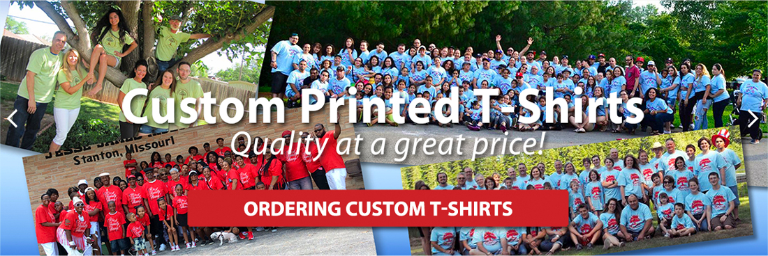 custom printed t-shirts from class quality at a great price