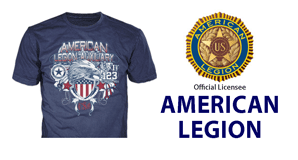 custom american legion t-shirts