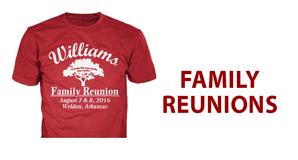 family reunion custom t-shirts