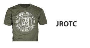 Custom JROTC t-shirts