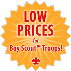 low prices for boy scout troop custom t-shirts medallion