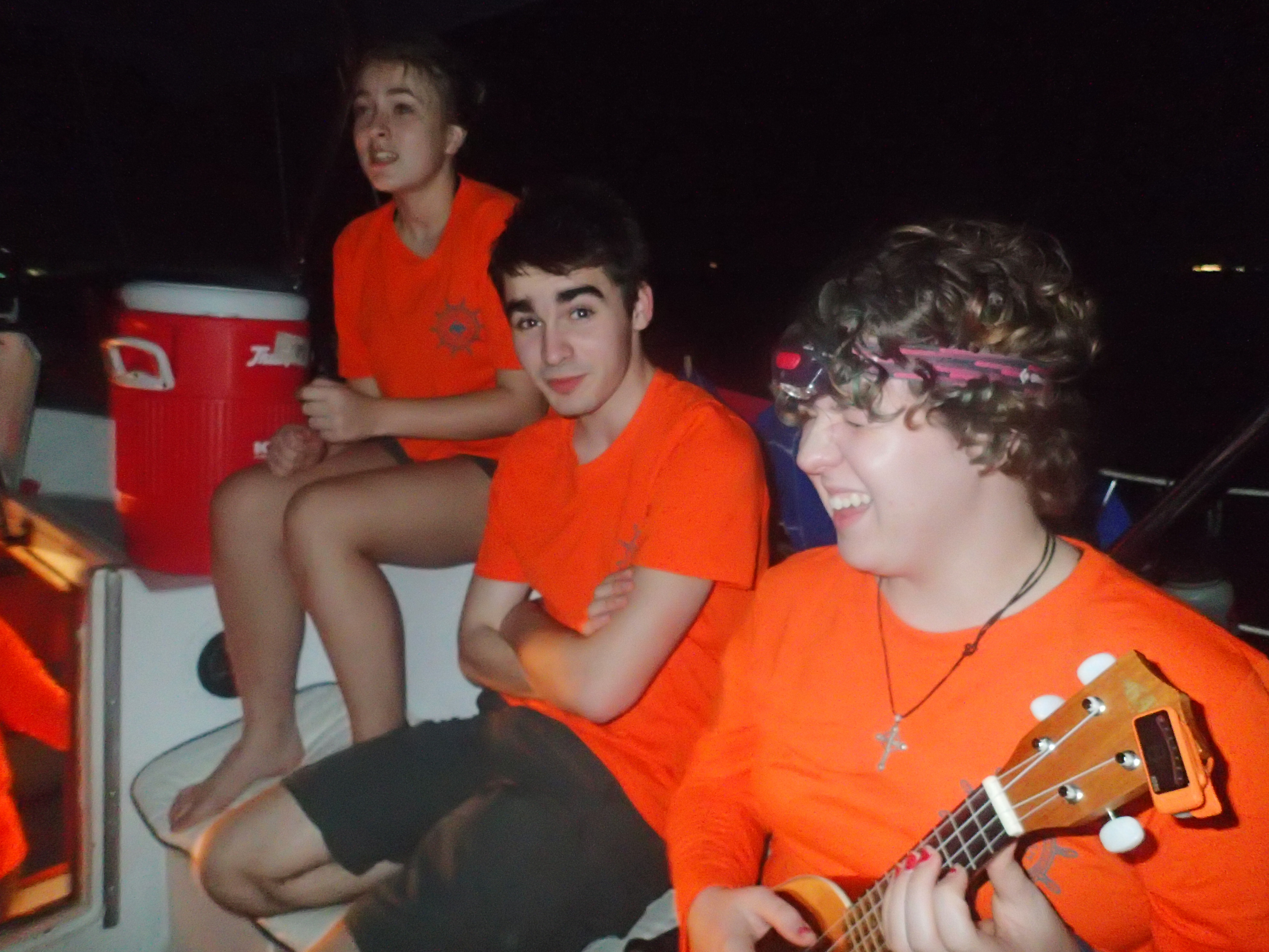 Venture Crew 70 Relaxing And Playing Some Tunes