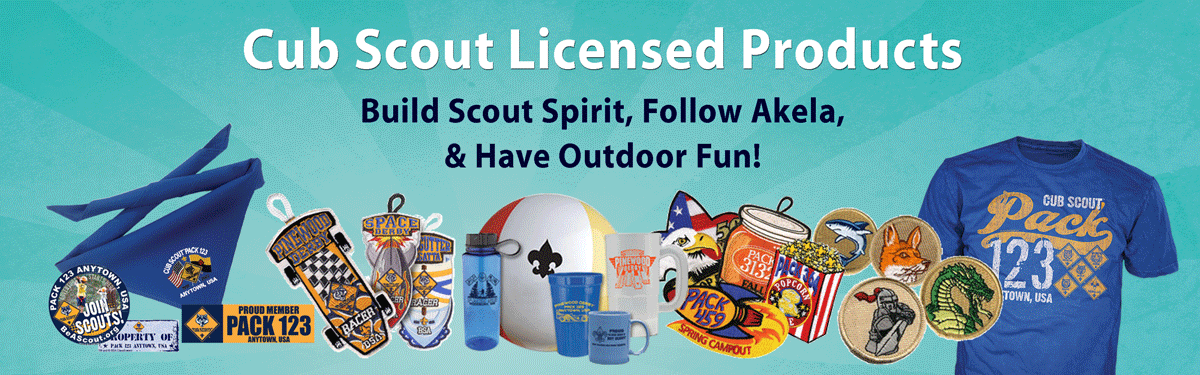custom cub scout pack gear