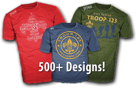 Boy Scout Troop Design Ideas For Custom T Shirts Over 500 Choices