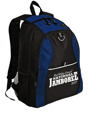 Backpack for 2017 National Jamboree at Summit Bechtel Reserve