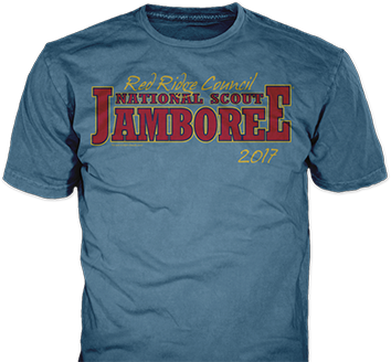 National scout jamboree 2017 t-shirt design idea sp6510