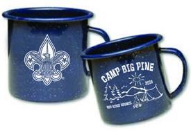 B556 Steel Porcelain Campfire Mug