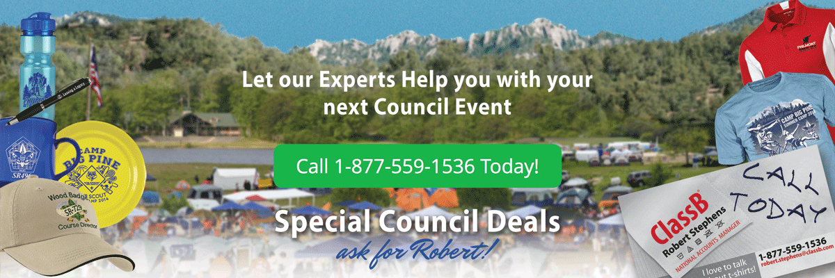 Boy Scout Council special deals call today