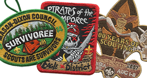boy scout patches for council event examples