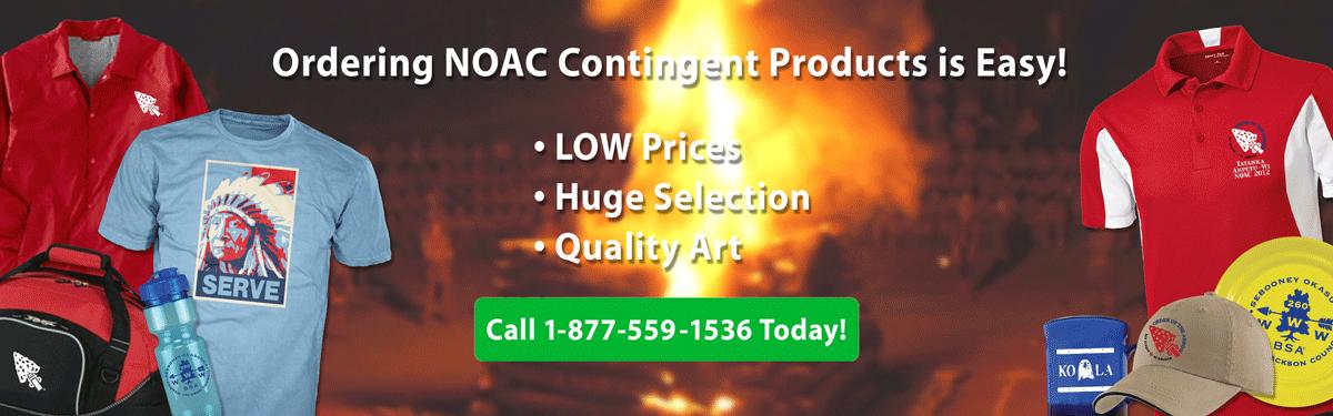 NOAC contingent  products header