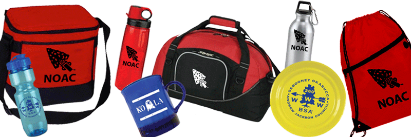 NOAC promotional products