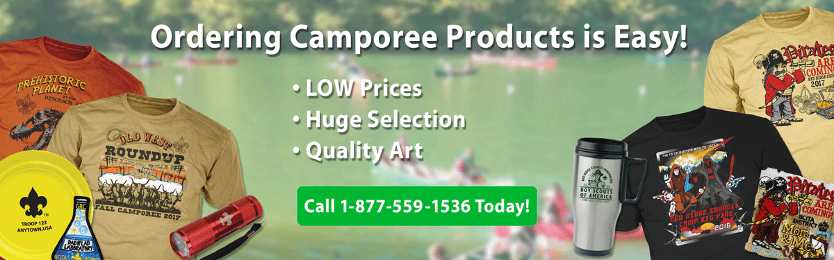 boy Scout Camporee products header