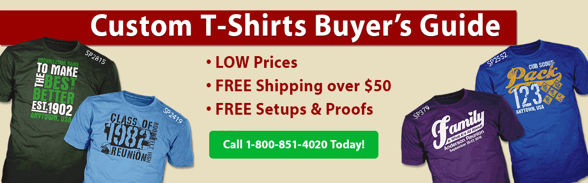 Custom T-Shirts | Printed Garments | Buyers Guide - ClassB® Custom ...