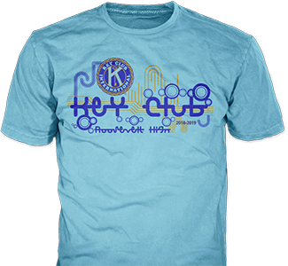 Key Club T Shirt Design Idea SP2274 On Sand T Shirts