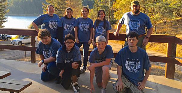 Venturing crew photo wearing custom venturing crew t-shirts from ClassB