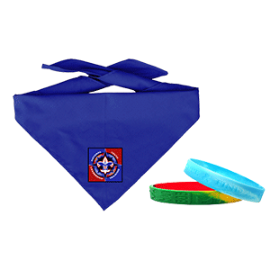 NYLT neckerchiefs and wristbands