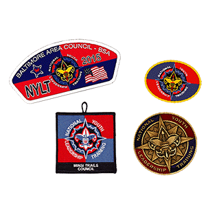 NYLT pins and coins