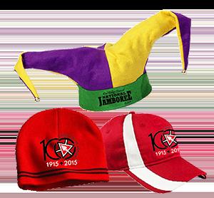 NOAC caps hats