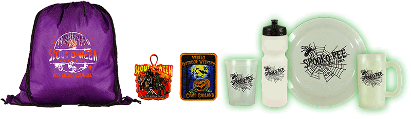 spook-o-ree promotional products