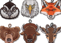 wood badge patches