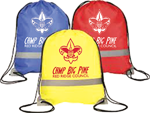 custom duffle bags and backpacks for boy scout camps