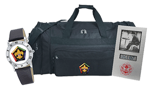 wood badge bags promotional products