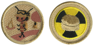 custom Boy Scout patrol patch examples
