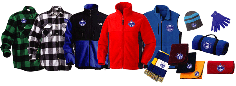 winter camp custom jackets and apparel for boy scouts