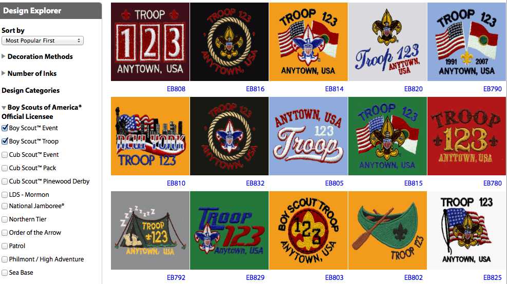 Embroidery design idea explorer over 50 designs to choose from