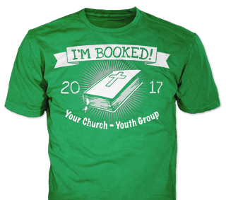 Church youth t-shirt design idea SP6468 on Old Gold t-shirts