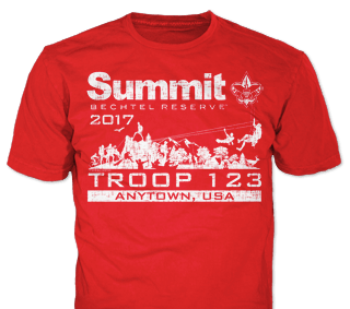 Summit Bechtel t-shirt design idea SP5145 on tweed t-shirts