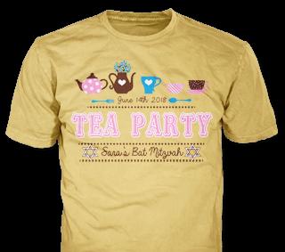 Bat Mitzvah t-shirt design idea SP5889 on Light Brown