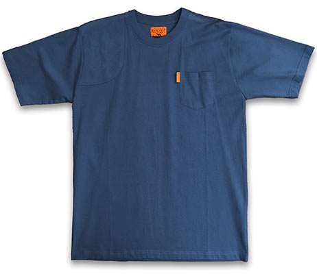 Pocketed Shooter Shirt Light Navy