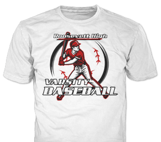 Baseball Team T-Shirt Design Ideas from ClassB