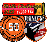 Custom Sporting Clays Shooting Patch 6048