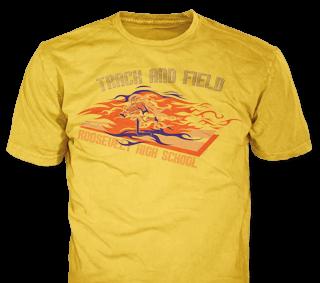 Track & Field Team T-Shirt Design Ideas from ClassB