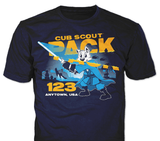 Cub Scout Pack T-Shirt Design Ideas from ClassB