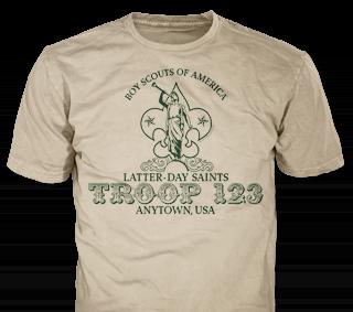 LDS Troops T-Shirt Design Ideas from ClassB