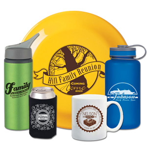 Custom Family Reunion Promotional Products