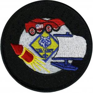 Cub Scouts Raingutter Regatta Emblem Badge Patch