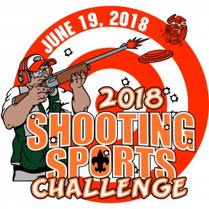 Shooting Challenge Embroidered Patch Design Idea