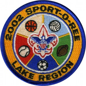 Sports Embroidered Patch Design Idea