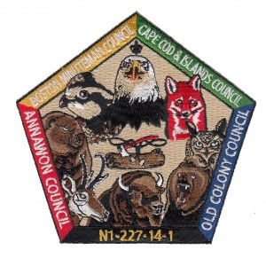 Wood Badge Critters Embroidered Patch Design Idea