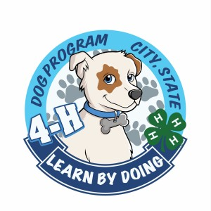 4-H Dog Program Patch Design Idea